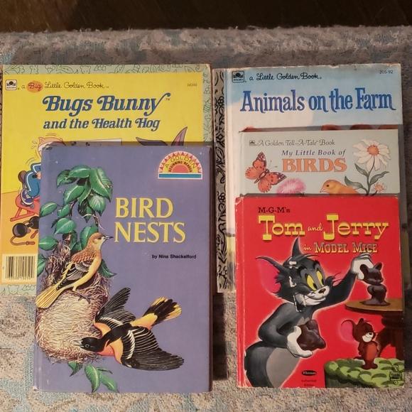 5 Vintage Children's books